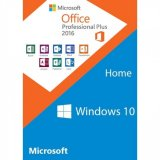 Windows 10 Home + Office 2016 Pro Plus Product Key