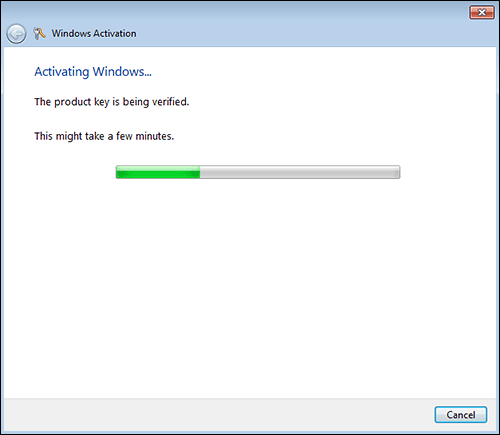 windows 7 online activation step 2